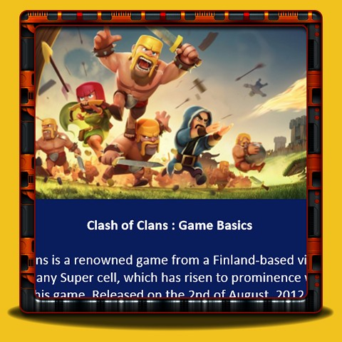Clash of Clans - Game Basics